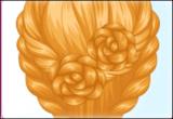 لعبة تسريحة الورد الجوري