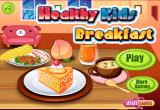 لعبة تحضير الافطار للأطفال