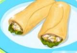 لعبة باربي طبخ سمك التونة مع السلطة التركية