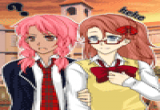 لعبة مكياج باربي المزاجية مع صديقاتها المرحات