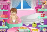 العاب الاعتناء بالاطفال الرضع