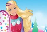 لعبة مسابقة تزلج باربي 2016