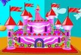 لعبة تجهيز باربي ديكور قلعة الكيك