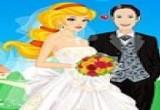 لعبة تلبيس ومكياج العروسة السعيدة