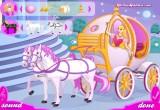 لعبة تلبيس وتزيين حصان الملكة سندريلا