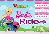 العاب باربي ركوب الدراجة