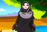 لعبة تلبيس البنت المحجبة الخليجية