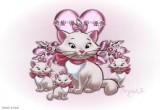 لعبة تلوين القطط الثلاث