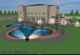 لعبة تلوين باربي حمام السباحة 2014