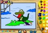 لعبة تلوين التمساح الكبير 2017