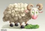 لعبة حلق وقص شعر خروف العيد 2014