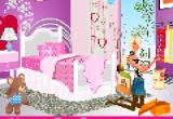 لعبة ديكور غرفة باربي الاميرة