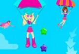 لعبة باربي في مسابقة المظلة المتحركة الحديثة