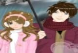 لعبة مكياج باربي العسولة وصديقها المرح في الشتاء
