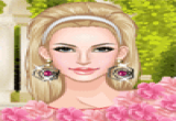 لعبة ملابس الزهور للبنات