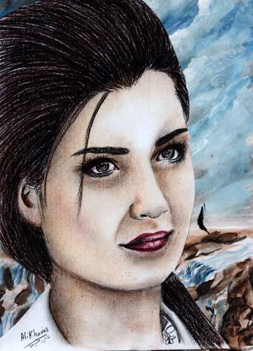 لعبة تلبيس الممثلة التركية لميس
