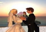 لعبة تلبيس العروسين باربي وشارل