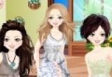 العاب تلبيس الصديقات الثلاثة الفساتين