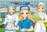 لعبة تلبيس الممرضات الثلاثة 2014