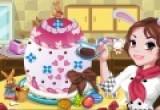 لعبة طبخ باربي كيكة يوم الحب