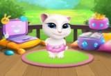 لعبة تلبيس القطة الشقية