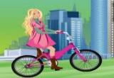 لعبة باربي في ركوب الدراجة