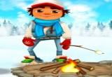 لعبة صب واي في الثلج