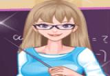 لعبة تلبيس باربي المعلمة الجميلة