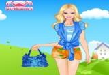 لعبة تلبيس باربي ملابس الصيف