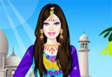 لعبة تلبيس باربي الساري الهندي