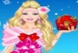 لعبة تلبيس باربي الفساتين الحمراء