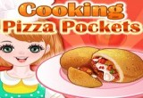 cooking pizza pockets game