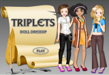 لعبة تلبيس الفتيات الجميلات