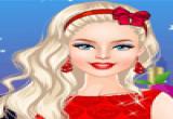 العاب تلبيس باربي ملابس عيد الحب الجديدة