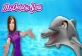 لعبة الدولفين في البحر
