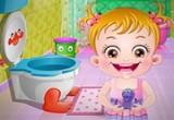 العاب بيبي هازل تنظيف الحمام