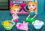 لعبة بيبي هازل غسيل الملابس