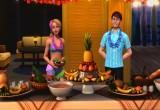 العاب باربي طبخ على الانترنت