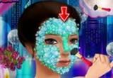 لعبة تنظيف بشرة ملكة جمال العالم