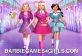 العاب بنات باربي في المدرسة
