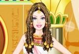لعبة تلبيس الاميرة باربي المصرية