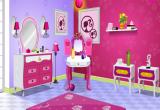 لعبة ديكور غرفة نوم باربي الجميلة