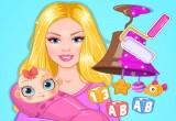لعبة باربي في حضانة الاطفال