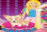 لعبة تلبيس كلب باربي اللطيف