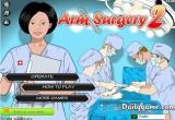 لعبة عملية جراحية في المشفى