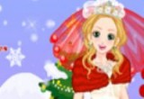 لعبة تلبيس عروسة الثلج 2014