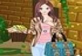 لعبة تلبيس بنات ملابس الخريف