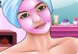 لعبة تنظيف بشرة الفتاة الناعمة