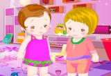 لعبة عيادة الاطفال الصغار