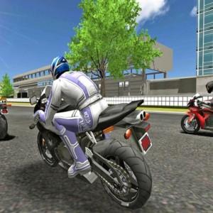 لعبة سباق دراجات نارية